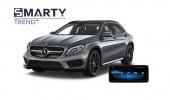 Mercedes-Benz GLA 2014 (X156) - пример установки головного устройства