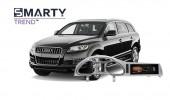 Audi Q7 2012 - пример установки головного устройства