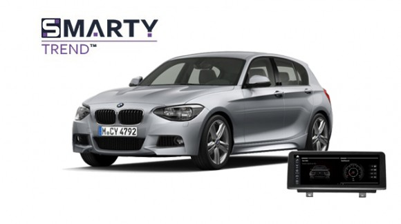 BMW 1 Series F20 2012 - пример установки головного устройства