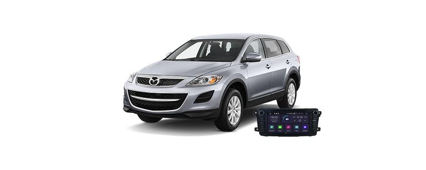 Mazda CX-9 2008 - пример установки головного устройства
