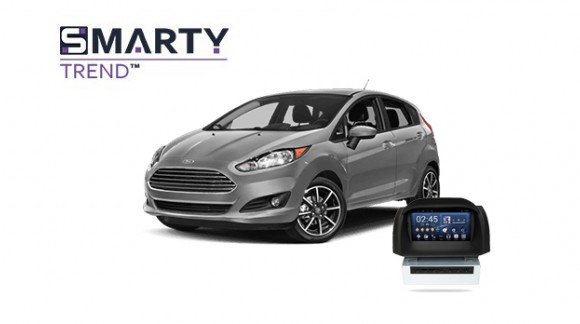 Ford Fiesta 2017 - пример установки головного устройства