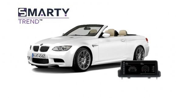 BMW 3 Series e93 2011 - пример установки головного устройства
