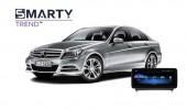Mercedes-Benz C-Class 2010 (W204)  - пример установки головного устройства