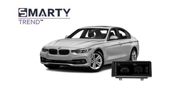 BMW 320 (f30) 2012  - пример установки головного устройства