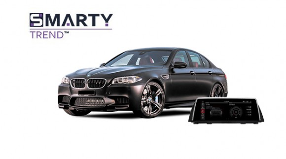 BMW 5 Series F10 2012 - пример установки головного устройства