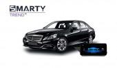 Mercedes-Benz E-Class 2012 (W212)  - пример установки головного устройства
