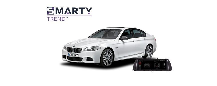 BMW 5 Series F10 2014 - пример установки головного устройства