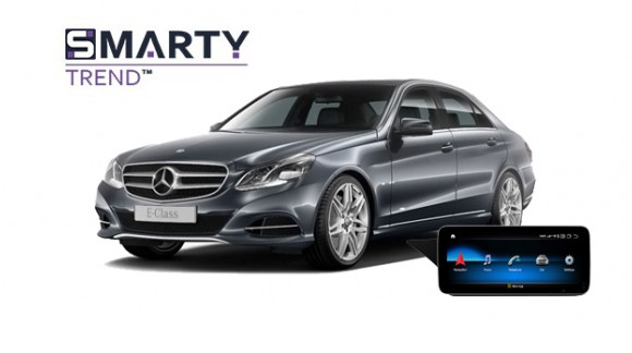 Mercedes-Benz E-Class 2015 (W212) - пример установки головного устройства